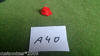 A-40 / 5 X Süd-nordstaaten-keppi´s / Roter Kunststoff--acw/csa/css-artellerie