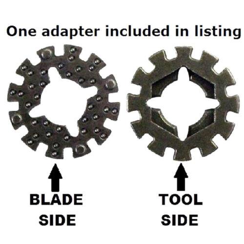 1x Adapter Zubehör für Multi Cutter Multimaster Multifunktionswerkzeug Fein DE\\