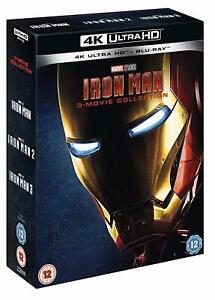 IRON-MAN-1-3-Movie-Collection-4K-Ultra-HD-Blu-ray-Marvel-Trilogy-UHD-Set