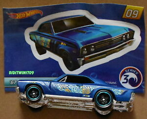 2018 Chevelle Ss >> Details About Hot Wheels 2018 Mystery Car 67 Chevelle Ss 396