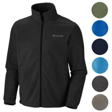 2-Pack Columbia Mens Original Warm Winter Fleece Zip Up Jacket