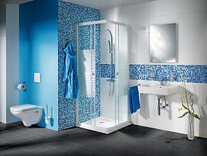 Mosaik Fliesen Mix Hellblau Blau Glas Mit Effekt Spots Wand Art 52