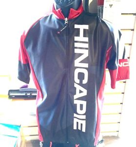 Hincapie-Element-Short-Sleeve-Thermal-Rain-Jersey-Size-Large-Brand-New-w-Tags