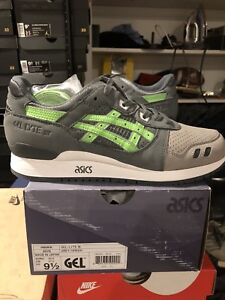 the best attitude fbf85 300cd Details about Ronnie Fieg x Asics Gel Lyte III Super Green - DS Size 9.5