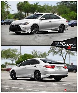 Image Is Loading Body Kit Toyota Camry Z Type 2017