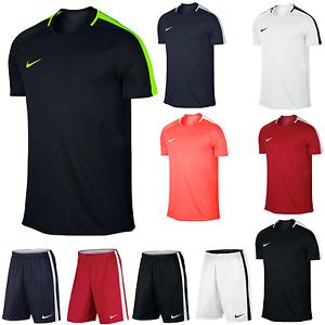 d387384932 MENS Nike Academy Dri Fit Gym Football Sports Training T Shirt Top ...