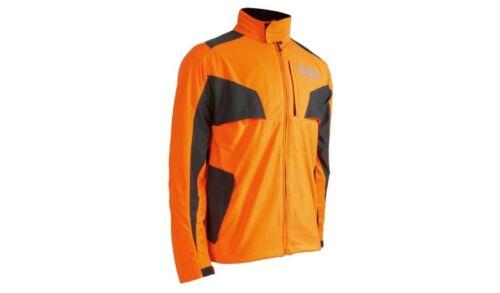 OREGON Yukon Forstjacke Jacke  in Warnfarbe Orange Stretchgewebe   Größe XL