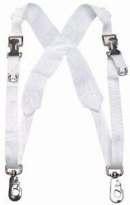 Belmonte-Bass-Drum-Harness-Webbed-White