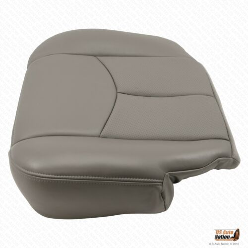 2003 Cadillac Escalade Driver Bottom Perforated Cover /& Foam Seat Cushion Gray