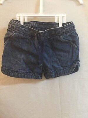 Toddler Girls/' Knit Shorts 18M 2T 4T 5T #24L Cat /& Jack Faux Dark Denim