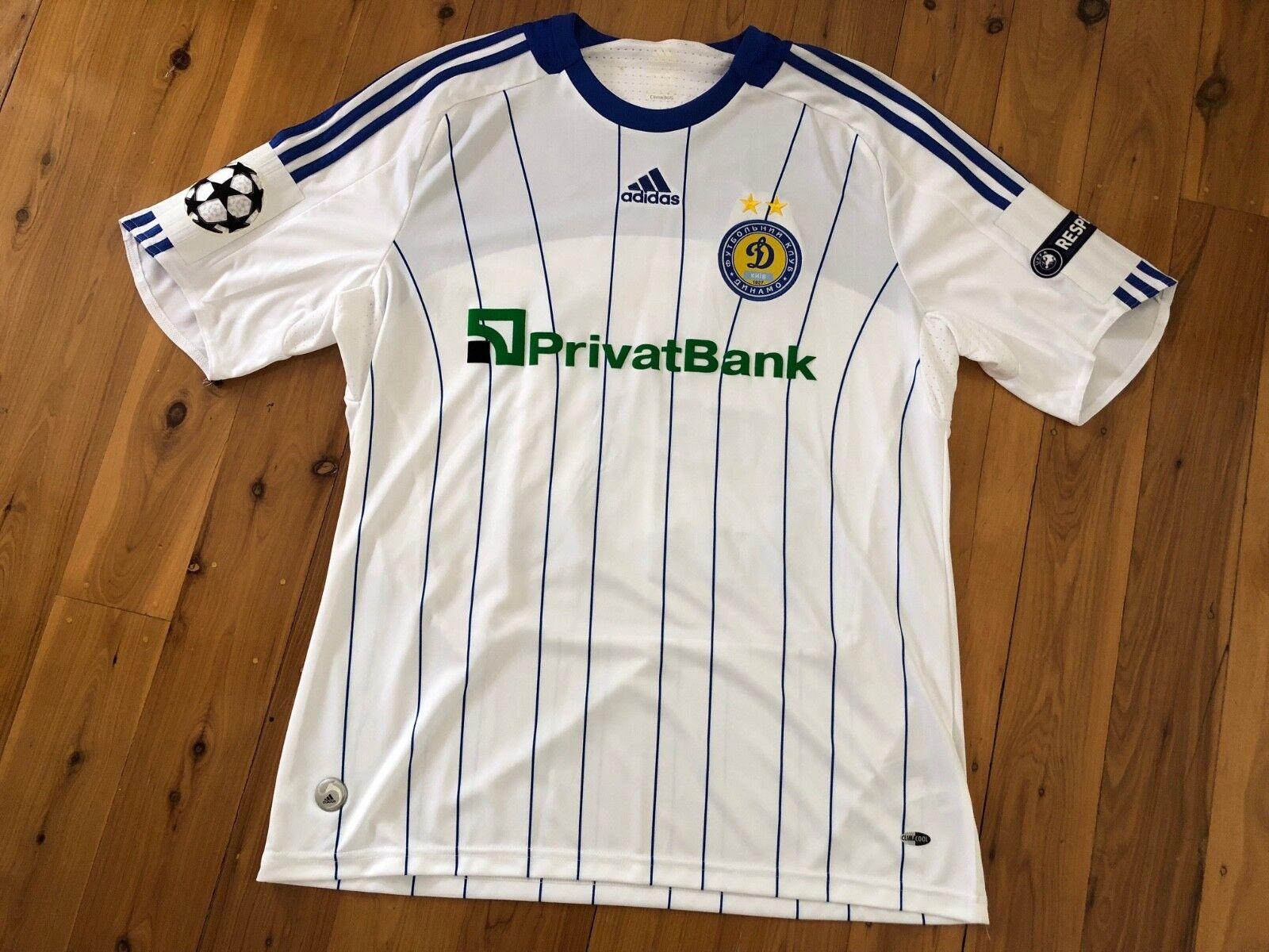 Dinamo Kiev Matchworn Gusiev Champions League de jersey