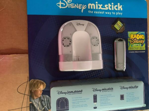 Disney Jam Stand Mix Stick Mix Clip Combo Pack Speakers Music Station New