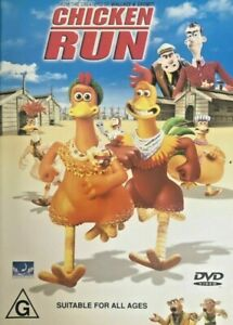 Chicken-Run-DVD-2001-Region-Four-R4-FastNFree-1994-With-original-booklet