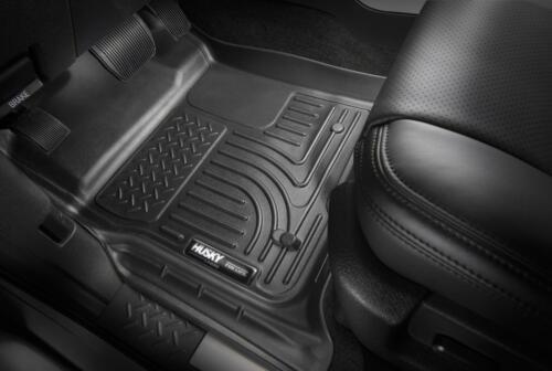 Husky Liners Car Floor Mat Rubber Carpet For Chevrolet 15-17 Silverado 3500 HD