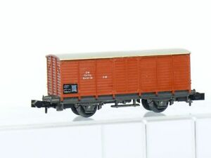 Minitrix-3253-Vagon-de-Carga-Cerrado-Gklm-10-de-Db-Marron-Muy-Buen