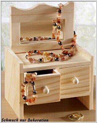 Schmuckschatulle Oder Puppenkommode Aus Holz