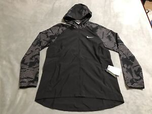 ccf4114f61 Image is loading NIKE-ESSENTIALS-FLASH-REFLECTIVE-RUNNING-JACKET-WOMEN -XSMALL-