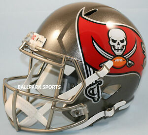 Image is loading TAMPA-BAY-BUCCANEERS-Riddell-Full-Size-SPEED-Replica- 075c84161