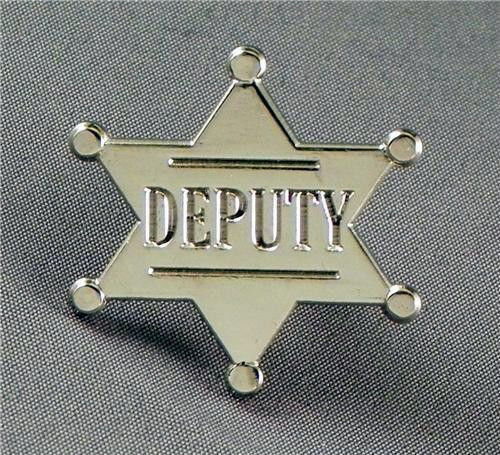 DEPUTY PIN BADGE NEW