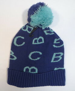 5db87f1c305457 Image is loading BCBGeneration-Blue-amp-Turquoise-Cuff-Knit-Beanie-with-