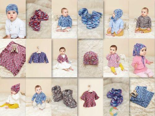 Le troisième petit sublime bébé Empreintes Hand Knit Book 21 Designs for 0-3 ans 731