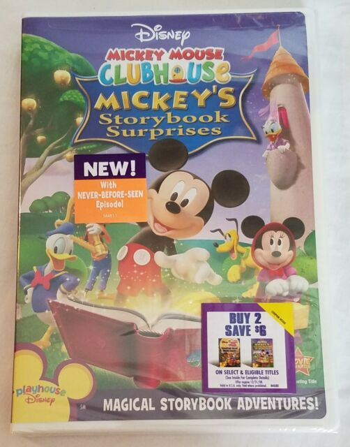 Mickey Mouse Clubhouse - Mickeys Storybook Surprises (DVD ...