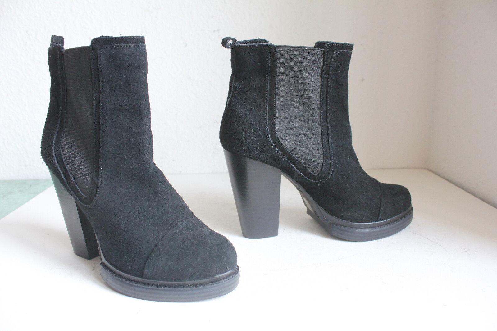 Bronx elegante chelsea style High párrafo ante botas negro eu:39, 5-40 -- Top