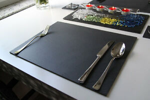 4-Stk-Tischset-40x30Untersetzer-Schieferplatten-geschnittene-Kante-Natur