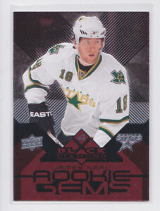 2008-09 Black Diamond Ruby 195 James Neal Rookie Gems RC 81/100