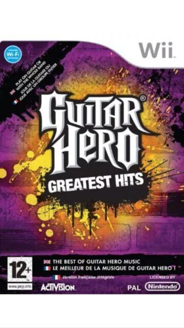 Guitar Hero Greatest Hits Nintendo Wii UK PAL **FREE UK POSTAGE** New & Sealed**