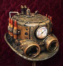 Steampunk Hat Brown Western #9 Cosplay Tesla Victorian