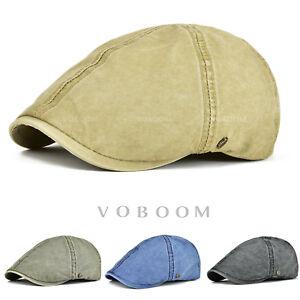 Casquette-de-lierre-en-coton-pour-homme-beret-chapeaux-Vert-Marine-Noir-kaki