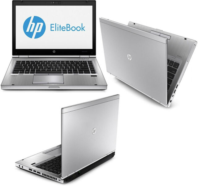 PORTATIL HP ELITEBOOK 8470P i5 DE 3ª GEN CON 8GB Y USB 3.0!!!