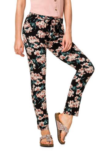 HailYs sommerhose Femmes Loisirs Strandhose avec des fleurs-Print pour Femme Pantalon
