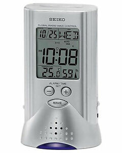 SEIKO-Global-Radio-Controlled-R-Wave-Beep-Alarm-Clock-With-Flash-Light-QHR017S