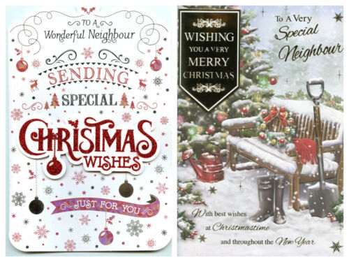 NEIGHBOURS CHRISTMAS 2 QUALITY DESIGNS TO CHOOSE FROM