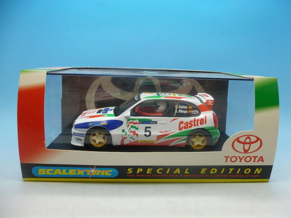 Scalextric C2119 Toyota Cgoldlla mint unused