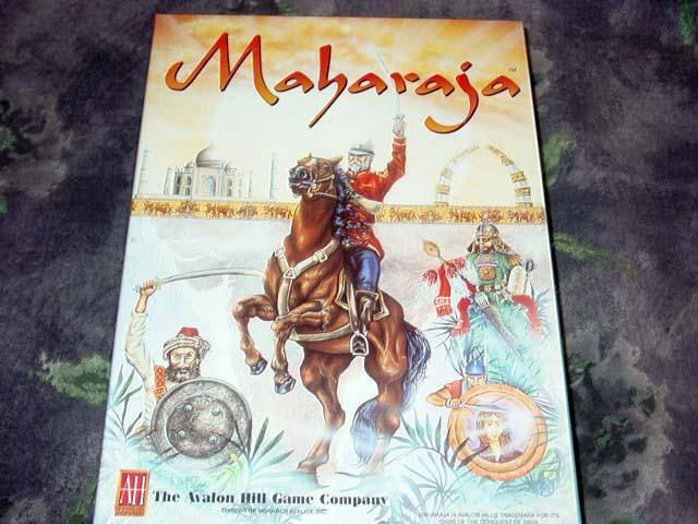 AH Avalon Hill 1994 - Maharaja - The Conquest of India & the Empir Game  SEALED