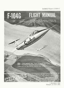 LOCKHEED-F-104G-STARFIGHTER-FM-LR-1-14404-1-amp-SUPPLEMENT-LR-1-14404-1A