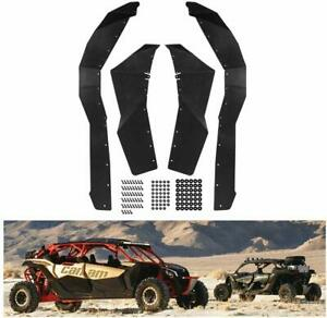Extended-Fender-Flares-Mud-Flaps-Guards-Set-for-2017-2019-Can-Am-Maverick-X3