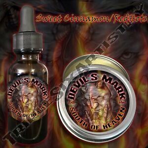 Devil-039-s-Mark-South-of-Heaven-Beard-Balm-Oil-Triple-Six-Artistry-Cinnamon-Redhots