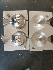 sea angling ball weight mould 12oz makes perfect ball weights.