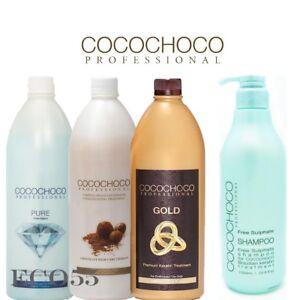 COCOCHOCO-1-Keratin-treatment-amp-Sulphate-Free-Shampoo-34oz-1000ml