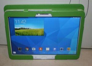 Tablet Samsung Galaxy Tab4 SM-T530 16GB Wi-Fi Wifi 10,1 Pollici Bianco + cover