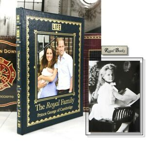 THE ROYAL FAMILY Prince George - Easton Press  -  LARGER BOOK
