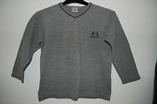 H&M | dünnes Sweatshirt | Pulli | Pullover | Langarmshirt | GREY | 116 122
