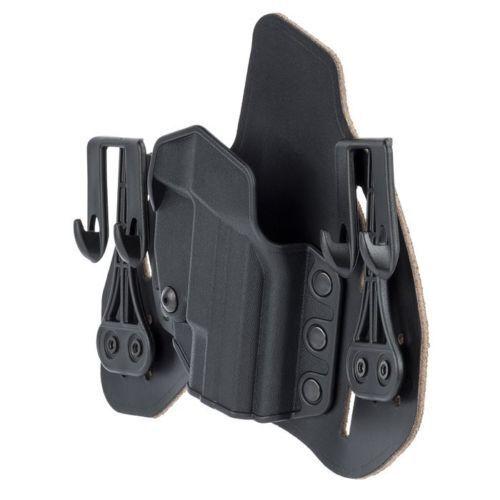 BlackHawk 422003BK-R Leather Tuckable Pancake IWB Holster Taurus J Frame