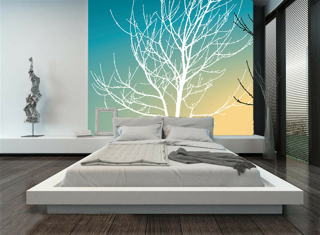 3D Weiß Tree Branch 56 Wall Paper Wall Print Decal Wall Deco Indoor Mural Carly