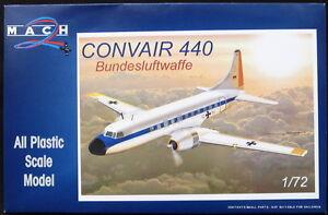 Mach 2 Models 1/72 CONVAIR 440 Bundesluftwaffe German Air Force Transport
