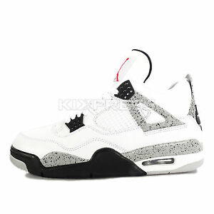 Nike Air Jordan 4 Retro IV WHITE CEMENT '89 OG NIKE AIR EDITION 840606-192 White/Fire Red/Black/Tech Grey - Air Jordan 100% authenti zpmTy1